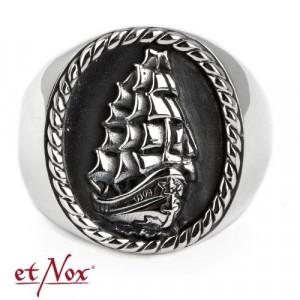 Inel argint Corabie cu trei catarge