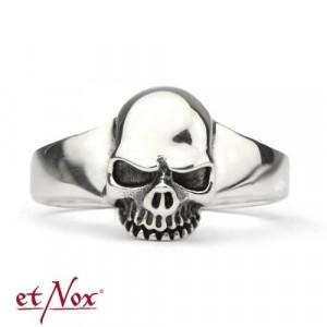 Inel argint Craniu