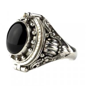Inel Poison Ring cu onix R166O