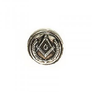 Insigna placata cu argint Simboluri masonice