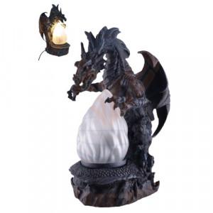 Lampa dragon Pazitorul Cristalului 29cm