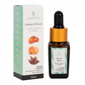 Mix premium de uleiuri pt aromaterapie Briza Verii ( ambra, ho wood si portocala ) 10ml