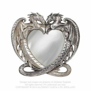 Oglindă de birou Inima de dragon