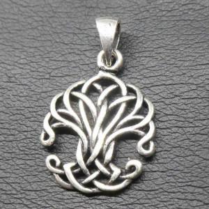Pandantiv argint Copacul vietii din nod 3cm