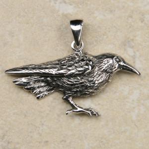 Pandantiv argint Corb