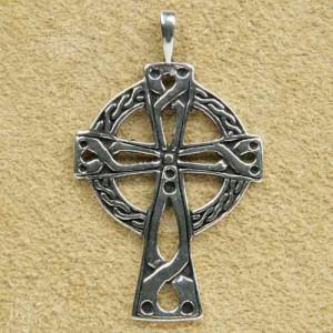 Pandantiv argint Cruce Celtica 4.6cm