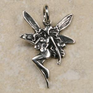 Pandantiv argint Elf 3cm