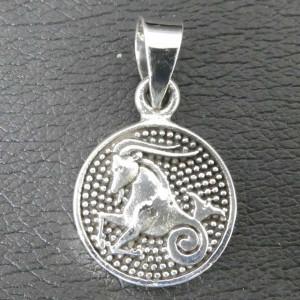Pandantiv argint semn zodiacal Capricorn