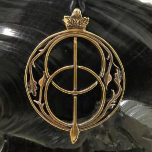 Pandantiv bronz Fantana Sfantului Graal