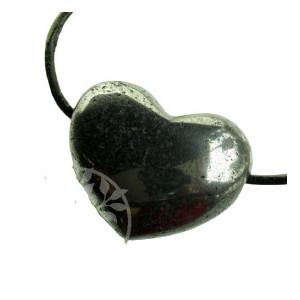Pandantiv inima din piatra semipretioasa Hematit