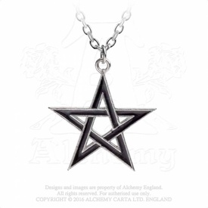 Pandantiv pentagrama Steaua Neagra