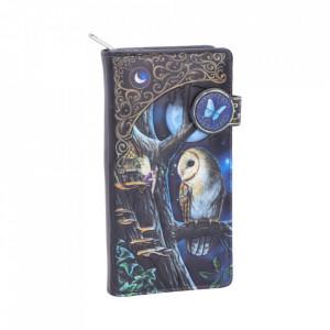 Portofel lung embosat File de Poveste- Lisa Parker - 19 cm