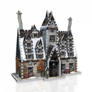 Puzzle 3D 395 piese Harry Potter Cele trei bețe de mătură