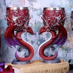 Set pocale dragoni Devotamentul dragonilor 19 cm