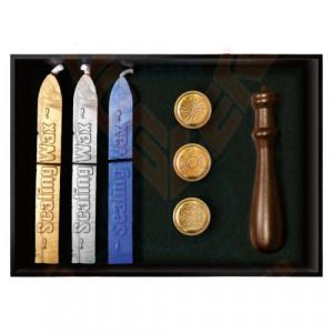 Set ritualic stampile si ceara pentru sigilii