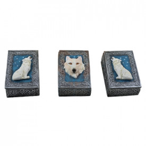 Set trei cutiute de bijuterii Gardienii Nordului 12cm