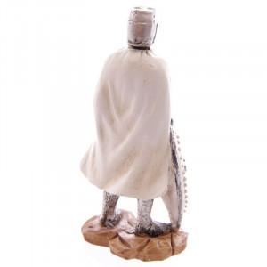 Statuetă cavaler medieval Cruciat 11 cm