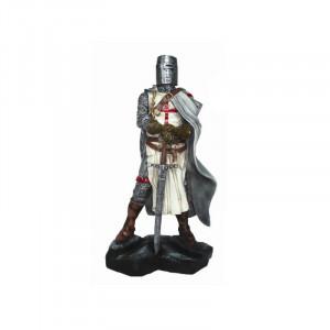 Statueta cavaler Templier cu spada 12 cm
