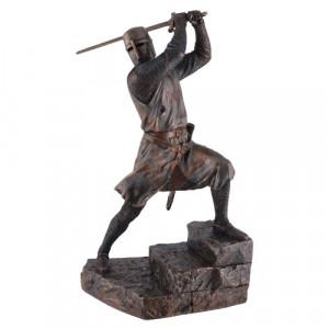 Statueta cavaler templier Mercenar 31cm