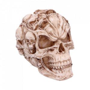 Statueta craniu Suflete Pierdute 18cm