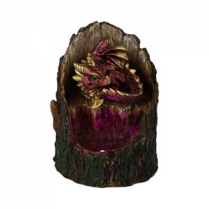 Statueta cu led dragon Arboreal Hatchling - rosu 10cm