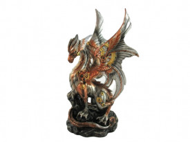 Statueta dragon steampunk