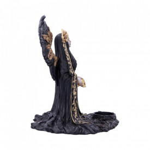 Statueta/Suport Lumanare inger gotic Teresina 28 cm