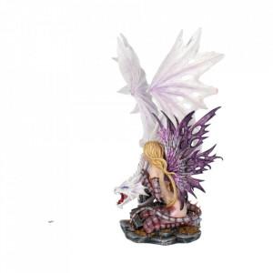 Statueta zana cu dragon Arya 59 cm