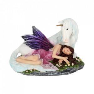 Statuetă zână și unicorn Euone