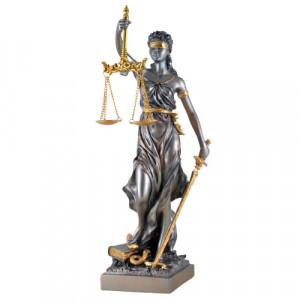 Statueta zeita dreptatii Themis ( Justitia) 33cm