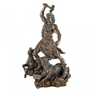 Statueta zeu nordic Thor 31cm