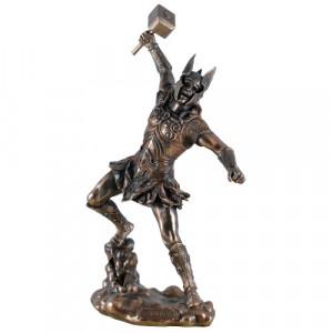 Statueta zeu nordic Thor - Zeul Tunetului 32cm