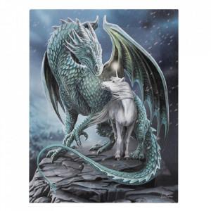Tablou canvas Protectorul Magiei, 19x25cm - Lisa Parker