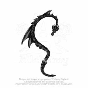 The Dragon's Lure black  Ear-Wrap