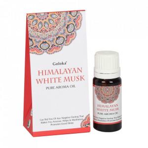 Ulei aromaterapie Goloka - Mosc Alb 10 ml