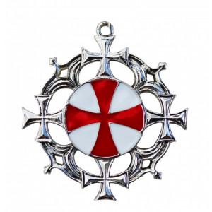 Pandantiv medieval Cruce solară