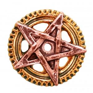 Cercei steampunk Pentagramă Penta Meridia