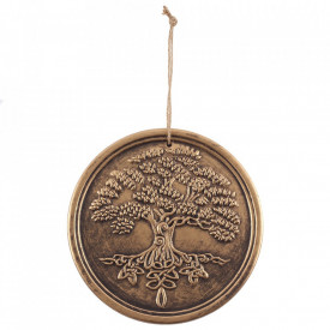 Placheta pentru perete Copacul Vietii, Lisa Parker, bronz
