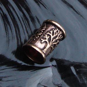 Bijuterie pentru barba/par bronz Copacul vietii