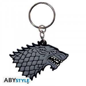 Breloc licenta Game of Thrones - Casa Stark