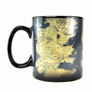 Cana termosensibila Game of Thrones - Harta Westeros si Essos