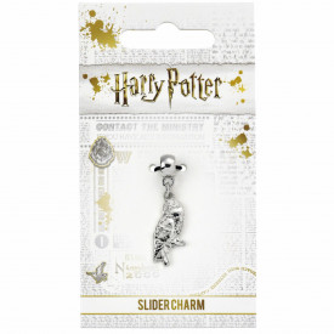 Charm placat argint licenta Harry Potter Bufnita