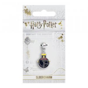 Charm placat argint licenta Harry Potter Expressul Hogwarts