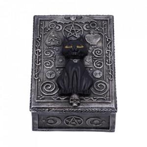 Cutiuta bijuterii Pisicuta Familiar Spell 13.7 cm