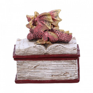 Cutiuță bijuterii Povesti de seara (rosu) 8cm.