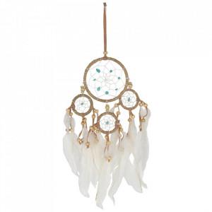 Dreamcatcher micut cu accesorii turcoaz