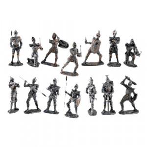 Figurina Cavaler medieval de paza 10 cm