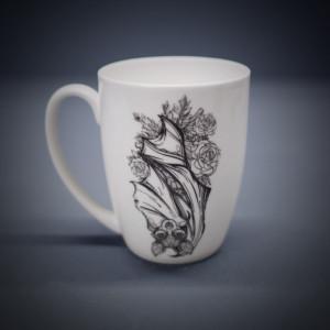 Floral Bat Mug