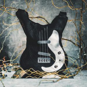 Guitar-shaped bag Balck Electro