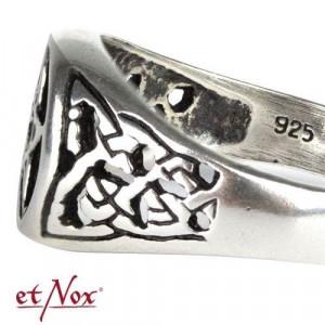 Inel argint Pentagrama R696